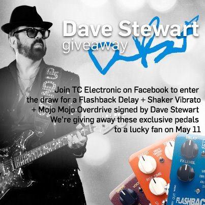 Dave Stewart TC Electronics Giveaway