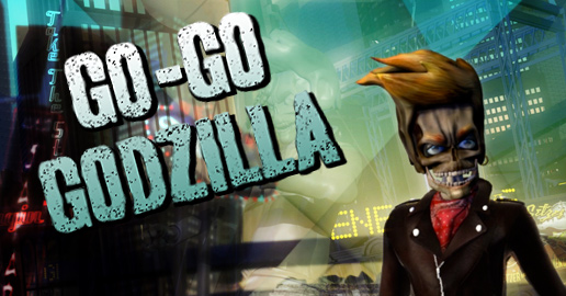 Trailer image from Go-Go Godzilla